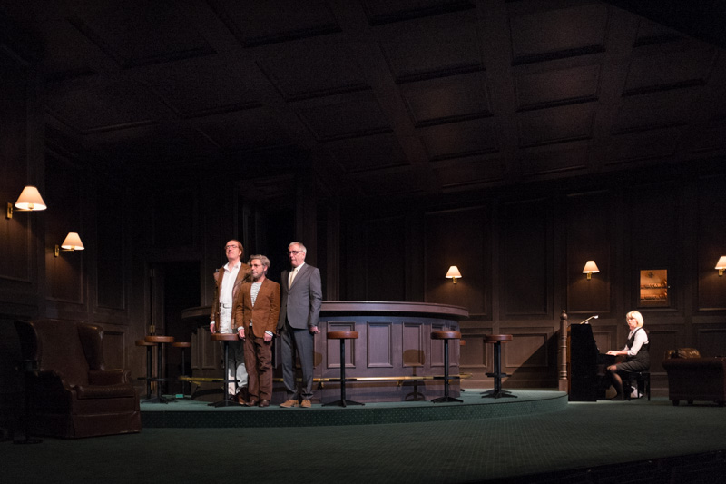 Theater Basel / Isoldes Abendbrot / Graham F. Valentine, Raphael Clamer,  Ueli Jäggi, Anne Sofie von Otter,