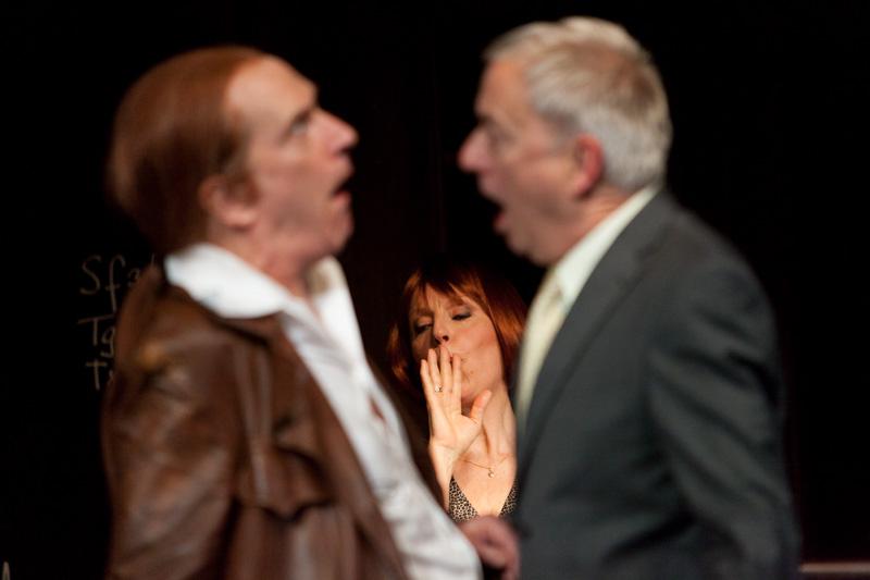 Theater Basel / Isoldes Abendbrot / Graham F. Valentine,   Anne Sofie von Otter, Ueli Jäggi