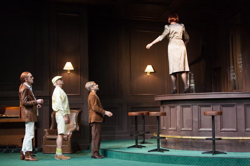 Theater Basel / Isoldes Abendbrot / Graham F. Valentine,  Ueli Jäggi, Raphael Clamer, Anne Sofie von Otter,